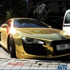 thumbs audi r8 or 001 Audi R8 en Or (4 photos)