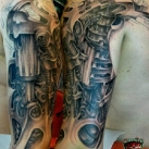 thumbs cyberpunk tatouages 009 Des tatouages Cyberpunk (20 photos)