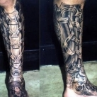 thumbs cyberpunk tatouages 012 Des tatouages Cyberpunk (20 photos)
