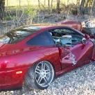 thumbs ferrari a percute un train 000 Une Ferrari qui percute un train (8 photos)