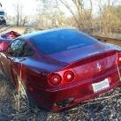 thumbs ferrari a percute un train 004 Une Ferrari qui percute un train (8 photos)