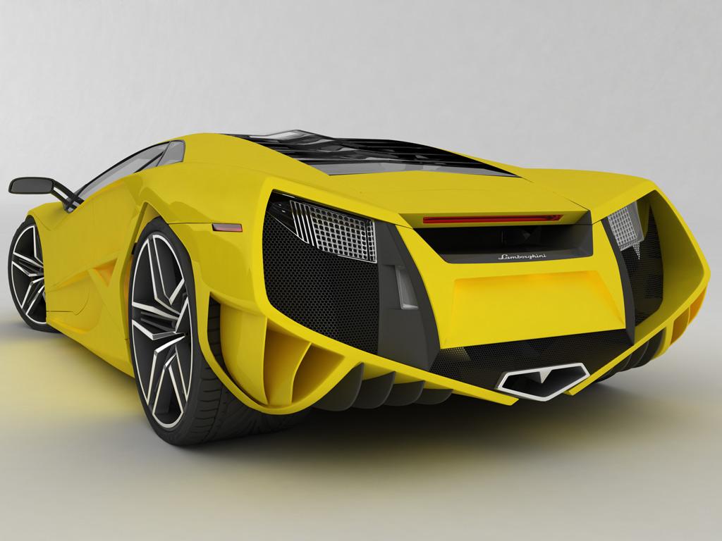 lamborghini reventon 001 Nouveau design de la Lamborghini Reventon (5 ...