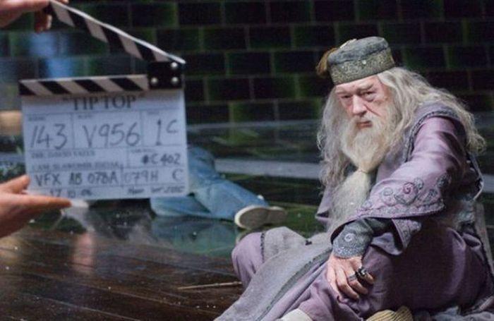 les coulisses du tournage harry potter 001 Les coulisses du tournage dHarry Potter (55 photos)