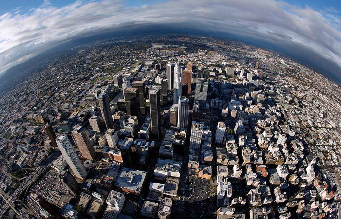 los angeles vue de dessus 001 Los Angeles vue de dessus (16 photos)