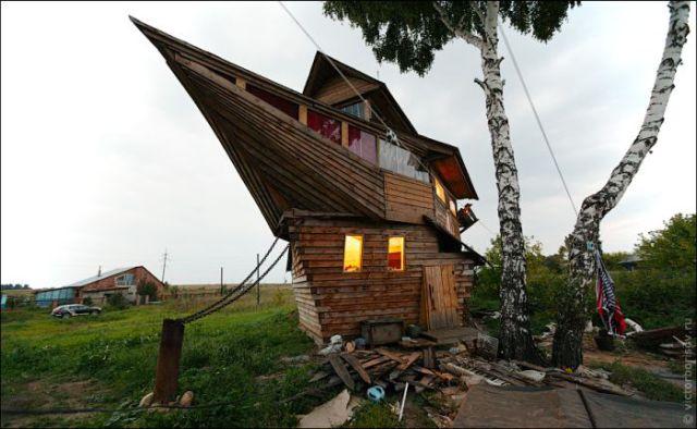 maison en forme darche de noe 001 Une Maison en forme darche de Noé (9 photos)