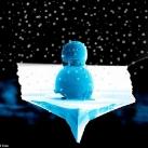 thumbs petit bonhomme de neige 001 Le plus petit bonhomme de neige au monde (2 photos)
