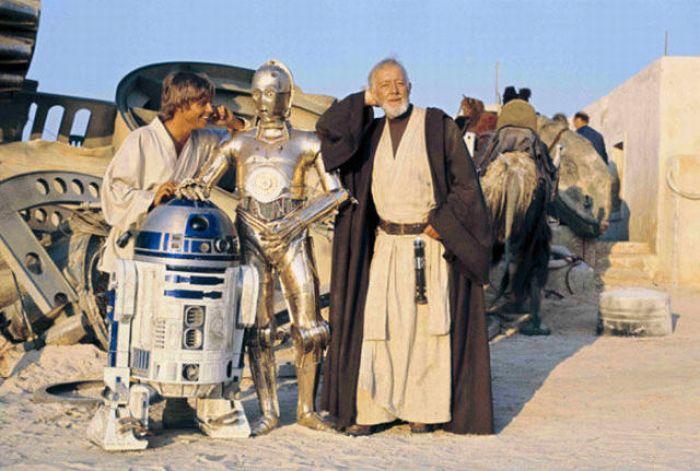 photos rares du tournage de star wars 001 Photos rares du tournage de Star Wars (113 photos)