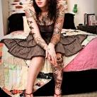 thumbs tatouages 031 Des filles avec des tatouages (33 photos)