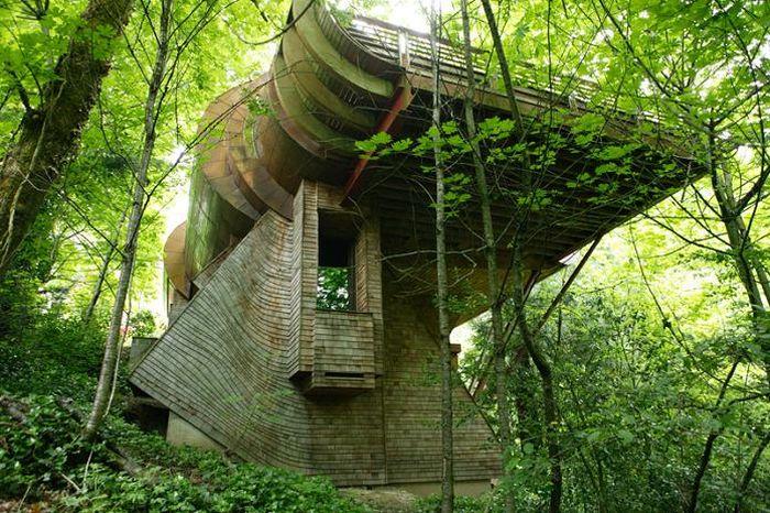 incroyable maison 001 Une Maison en Bois vraiment Incroyable ! (15 photos)